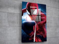 Marvel Comics - Limited Edition 100 Pieces - Spider-man  Print - Acrylic Glass - With Certificate