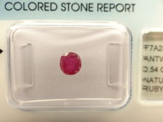Ruby  – 0,54 ct