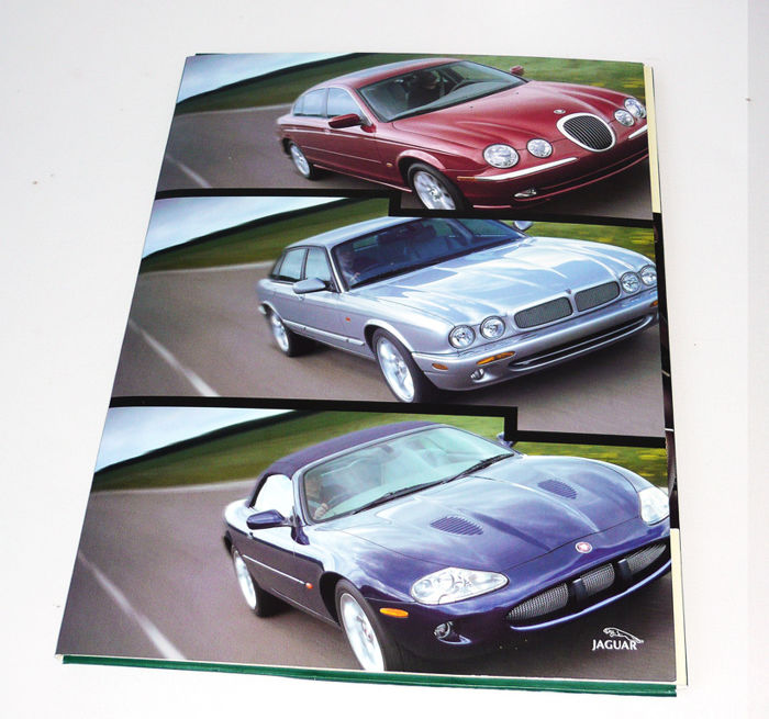"Jaguar year 2000 - press kit: ""Innovation, quality and value"" -  plus Jaguar S-type 1998 presskits"