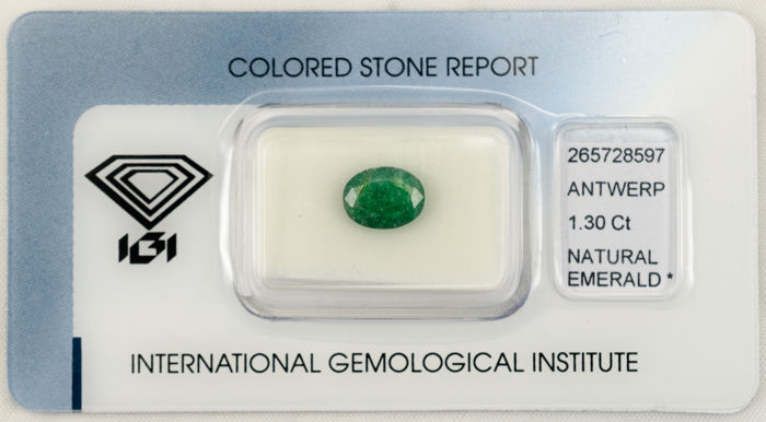 Emerald - 1.30 ct - No Reserve