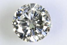 0.39 ct – Brilliant cut diamond –  G, I1
