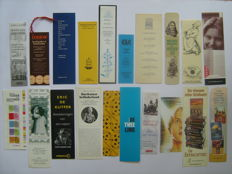 Book objects; Lot with 800 bookmarks - late 20th/early 21st century