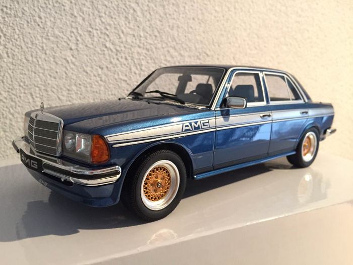 Otto Mobile Scale 1 18 Mercedes W123 Amg Blue Catawiki