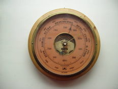 Two Soviet USSR  barometer and thermometer - circa 1962