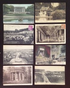 Versailles and castles and various France - lot of 560 old cards early 20th century to 1960.