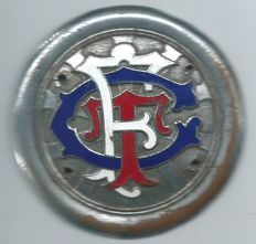 TCF Touring Club France Old Car Badge