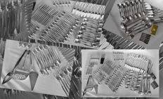 Christofle 137-piece table cutlery set - France, 20th century