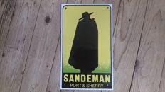 Sandeman Port & Sherry advertising sign in competition condition!