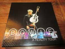 David Bowie A reality tour 3 LP box set on blue vinyl