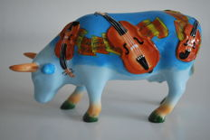 CowParade - Carol Oldenburg - A Moozart Moment - Medium, retired with tag and box