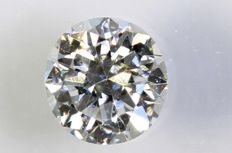 0.21 ct – Brilliant cut diamond – D, VS2