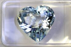 Heart Shape Aquamarine – 3.25 ct