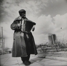 Antanas Sutkus - accordion player