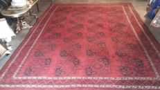 Beautiful hand-knotted Afghan carpet
