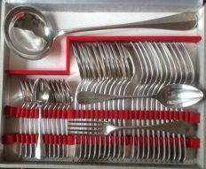 Fidelio 37-piece silverware set - Christofle - France - early 20th century
