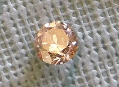 0,82 ct Fancy Intense Brown Si3 Diamant - IGL certificaat