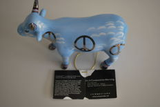 CowParade - Employees of Coin Wrap, Inc. - type Nicoles dream - medium with tag and box and retired