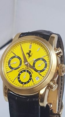 Girard Perregaus Ferrari limited edition chronograph - yellow gold - no. 109/250