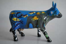CowParade - Abigail J. Krantz - type: The Elusive Sea Cow medium - retired