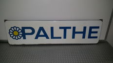 Dry cleaning: PALTHE advertising sign enamel - Langcat Bussum - 1960s/70s