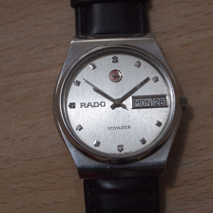 Rado Voyager model 636.3487.4 - Gents' automatic Swiss wristwatch – circa 1970s