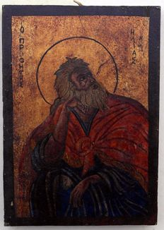 "Icon '""Saint II"" - Greece - 19th century"