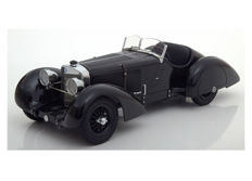 "KK-Scale - Scale 1/18 - Mercedes-Benz SSK Count Trossi ""the Black Prince"" 1930 - Colour Black"