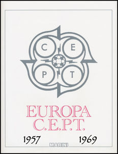 Europa CEPT 1957/1970 – Complete Collection of Ordinary Post