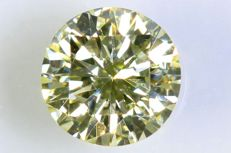 0.35 ct – Brilliant cut diamond –  U-V , Very Light Yellow – VVS2