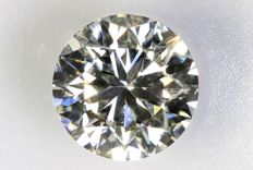 0.50 ct - Brilliant-cut diamond -  H ,  VS2