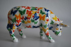 CowParade - Emma Knowles - type Gullan - medium - retired, with box