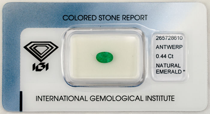 Emerald - 0.44 ct - No Reserve