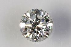 0.13 ct – Brilliant cut diamond – F, VVS2- NO RESERVE PRICE