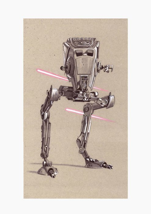 Star Wars - Litografía Star Wars -8x litho's - limited edtition - comes
