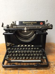 Remington Sixteen typewriter, USA, ca. 1930