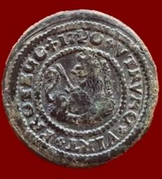 Spain – Felipe V, 2 Maravedis of Burgos 1620 – 23 mm, 4.6 g
