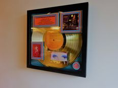 "David Bowie Gold Record Award Ziggy Stardust  ""Spiders From Mars"" 1972"