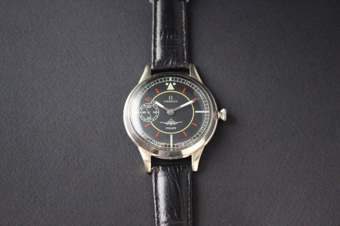 Omega – military-pilot marriage watch – 1930-1939.