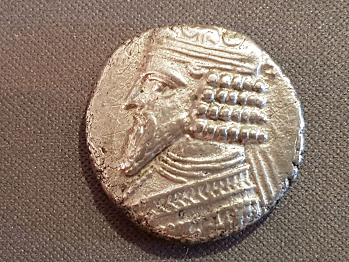 Kings of Parthia - Gotarzes II (40 - 51). Tetradrachm - Silver