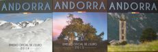 Andorra - Year collection 2014 + 2015 + 2016 ( 3 different kinds)