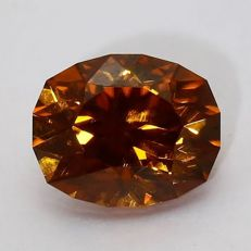 Brown orange Zircon - 4.17 ct.