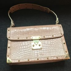 Louis Vuitton - Special Order L'aimable bag - pink crocodile