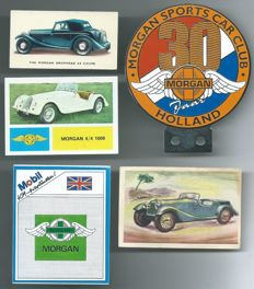 Morgan Auto Club Holland Car Badge & 4 Album Pictures