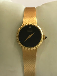 JAEGER ladies' watch in 18 kt gold