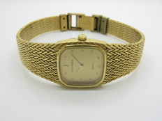 BUCHERER — 10 micron yellow gold-plated women's watch — 1970s — in very good condition
