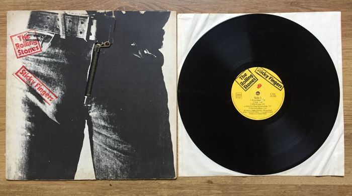The Rolling Stones - Sticky Fingers 1971 || with original Andy Warhol Zipper