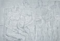 Henry Moore - Group of Figures