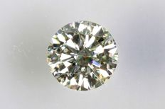 0.09 ct – Brilliant cut diamond – K, SI1- NO RESERVE PRICE