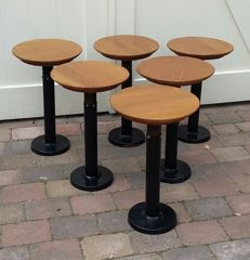 Designer unknown – 6 vintage stools