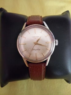 Longines Flagship – Men's wristwatch – 1960s.